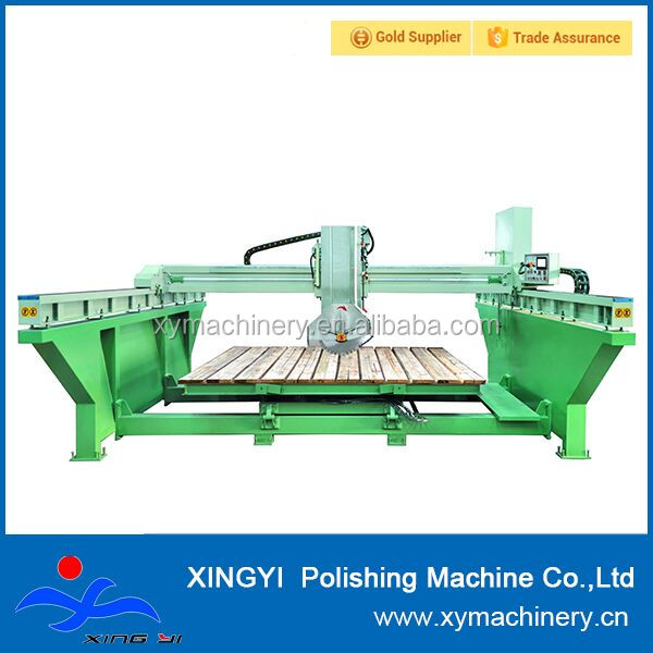 automatic laser marble stone cutting machine, bridge infrared cutter saw for sale