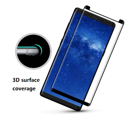 Smaller Size Case-Friendly 3D Curved Tempered Glass Screen Protector Cover For Samsung galaxy S9 S9