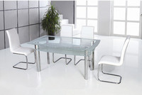 modern house design dining room set top long narrow glass dining table