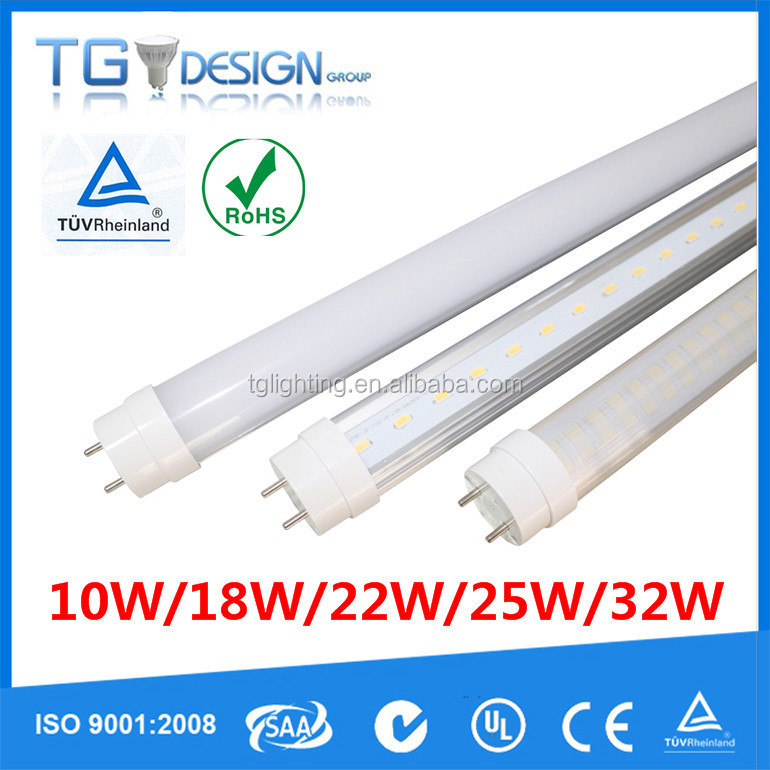 Hot In Sale! 5 Years Warranty LM80 Tested 10W/18W/22W/25W/32W LED Tube8 Wholesale Tubes