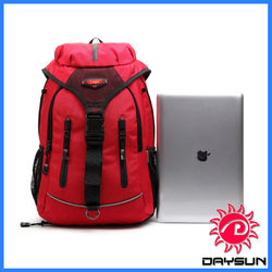 Branded Laptop backpack laptop bags with baseball and basketball pocket