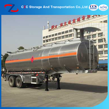 Export High Quality Tri-axle Fuel Tanker Semi Trailer