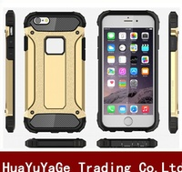 Slim Armor Shockproof TPU&PC Combo phone cases cover for Apple iphone 6 6S