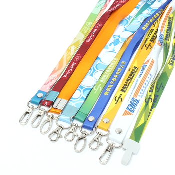 2019 personalized  offset silk printing vograce anime paracord wholesale neck custom printed lanyards