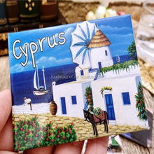 Place of Interest Souvenirs Aluminum Fridge Magnets for the World Famous Landscapes
