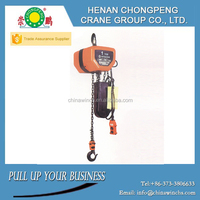 Factory outless electric hoist crane