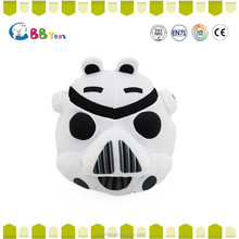 ICTI Interesting high quality plush toys for sales. The strange black and white pig