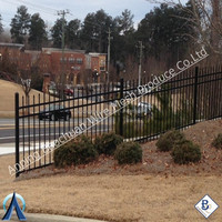 Hot selling Landscape Wrought Iron Fence for Garden