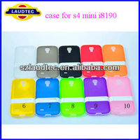 Laudtec 2013 new product cheap mobile phone case galaxy s4 mini case,tpu with stand case for samsung galaxy s4 mini i8190