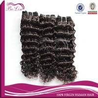 alibaba express hot new products for 2014 cheap price deep wave hair extension brazilian human hair for braiding