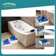 6pcs bathroom safe steps modular non-slip plastic portable bath step