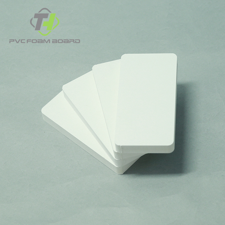 low price 4x8 pvc board wood grain pvc board
