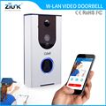 2017 Hot Selling Two Way Audio Support TF Card Motion Alarm IR night Vision Battery powered wireless doorbell
