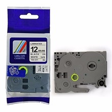 TZE231 TZe 231 Compatible P-Touch Tape 12mm Black on White