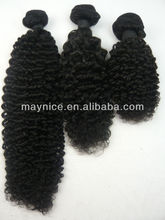 Factory price Grade AAAAA Malaysian virgin human hair afro curl kinky curl weaving hair extension for black women wholesale