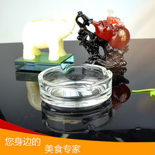 2014 hot sale promotion luxury high quality crystal ashtray