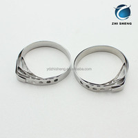 Stainless steel meat cooking rings
