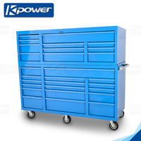 "Promotional 72"" Metal Storage Cabinet Tools Box With 4 Wheels"