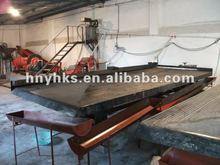 gravity mineral concentrator shaking table