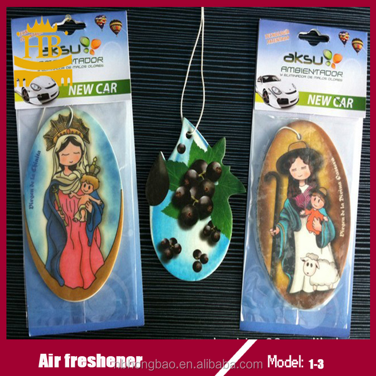 Hot selling cotton paper air freshener with good feedback