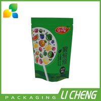 Colorful printing aluminum foil zip lock bag /aluminum foil packaging bag for food