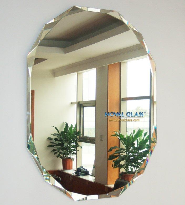 barato decorativo biselados espejos de pared buy product on alibabacom