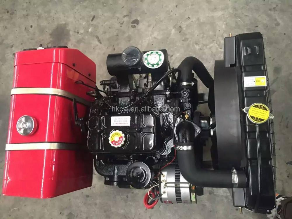 2017 gros 38hp moteur 2 cylindre petit diesel moteur. Black Bedroom Furniture Sets. Home Design Ideas