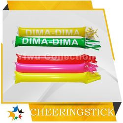 custom printed inflatable cheering sticks,england inflatable cheering sticks,plastic maracas shaker