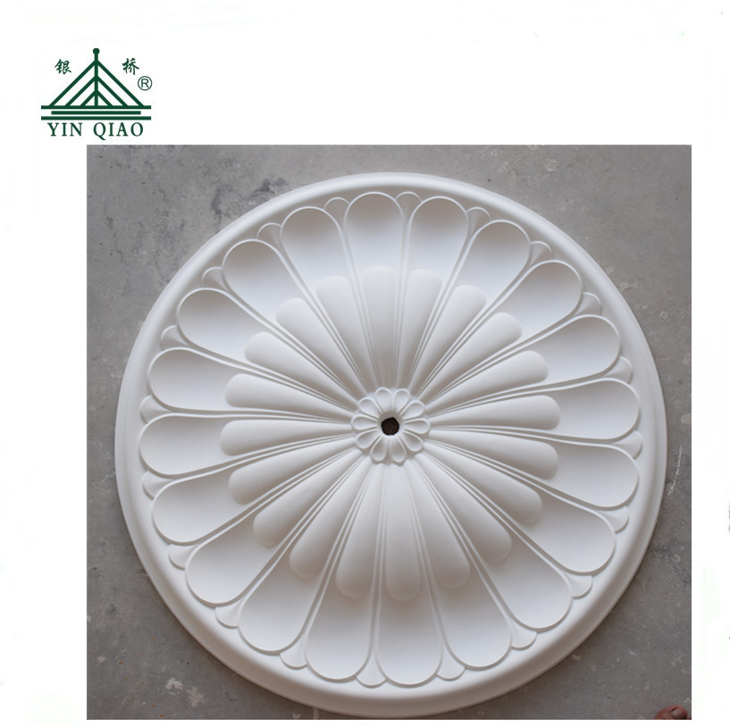 Carving Flower Pattern Designs Plaster Of Paris False Ceiling Pop Rosettes Design View Rosettes Design Yinqiao Yinqiao 20years Since 1995 Product Details From Shanghai Yinqiao Decorating Material Co Ltd On Alibaba Com
