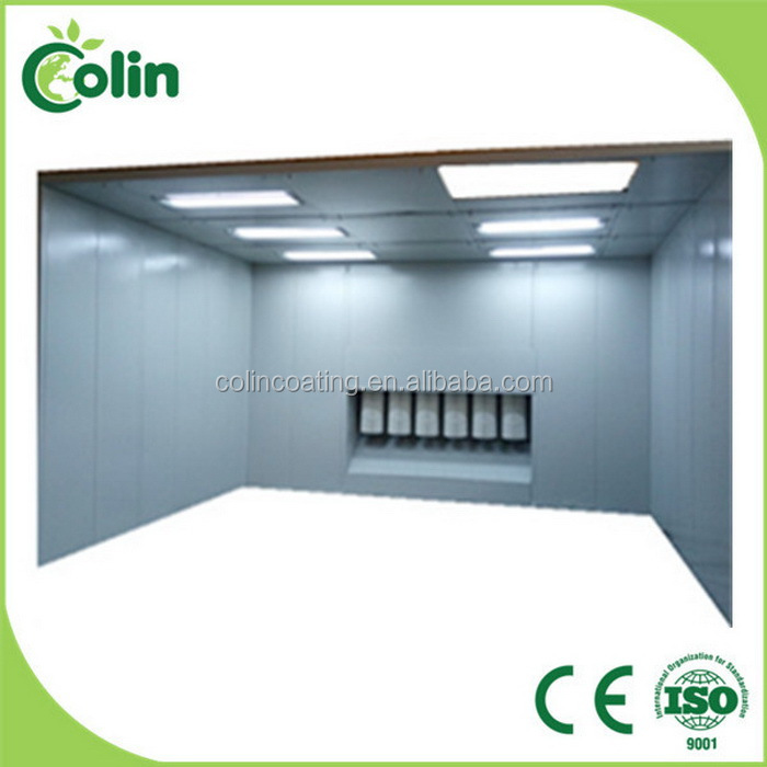 Widely use new type of diy powder spray booth supply