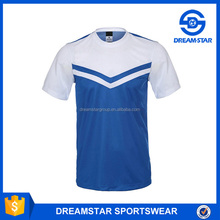 New Model Sublimation Blank Training Football Jersey