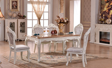 Luxury marble top dining table (NG2892)