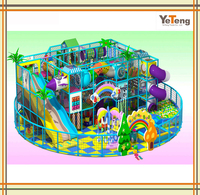 Indoor playing area customized kids indoor playground design with toy