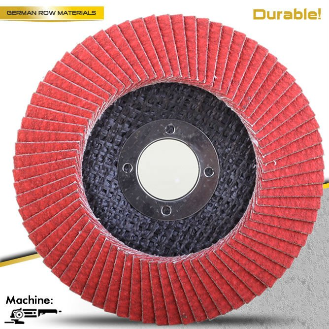 PEGATEC ceramic grain abrasive flap discs grinding wheel for stainless steel and steel