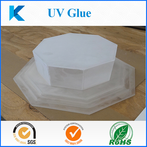 Customized UV glue for acrylic glass metal sealing and bonding