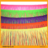 Fashion Garment Fringes Trimming Long Fringes For Dresses