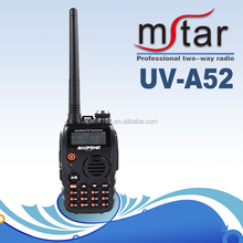 Bao Feng UV-A52 BF-UV6 walkie-talkie civilian amateur dual band handheld radio two way radio