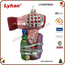 Lyhan glass drier ornament for 2017 Christmas tree decoration
