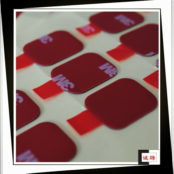 Very sticky double sided die cut self adhesive vhb sheet