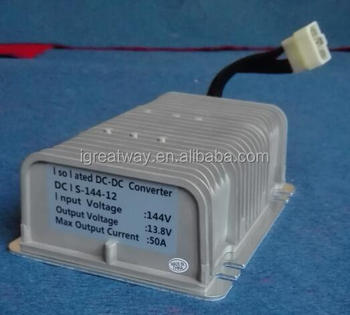 waterproof Isolated 144v to 12v,50A DC/DC converter