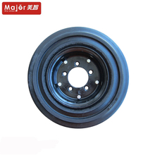 16 inch industrial tire 4.00-8 solid rubber forklift wheels