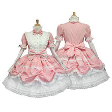 NEW Sexy Japanese Lolita Maid Outfit Cosplay Halloween Costume Fancy Dress