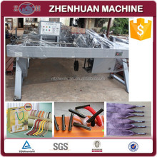 Automatic or semi-auotmatic rope lace tipping machine