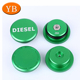 Hot 2013-2017 Dodge Ram Diesel Billet Aluminum Fuel Cap Magnetic Truck Green Cap