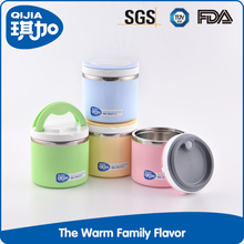 New design top quality one layer bento box thermal lunchbox kids