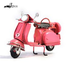 Wholesale prices simple design metal art decorative motorcycle with many colors