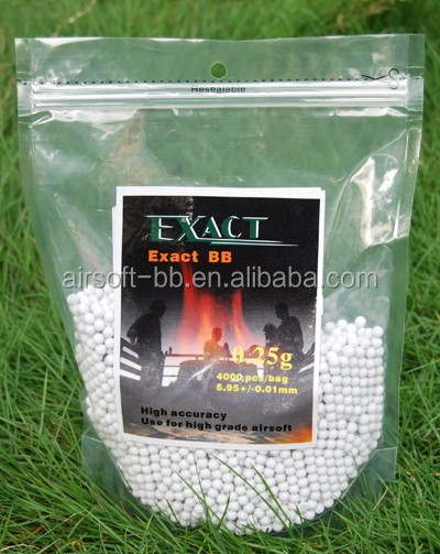 6mm EX-0.25g Exact manufacture airsoft bb airsoft ammo airsoft equipment