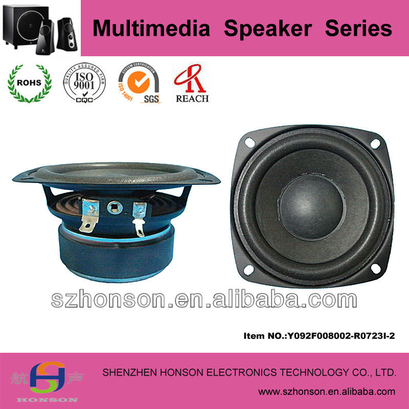 3.6 Inch 20W 8 Ohm Waterproof Speaker