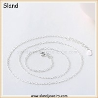 Chinese innovative handmade silver jewelry, buy silver chains from Sland Jewelry in Guangzhou