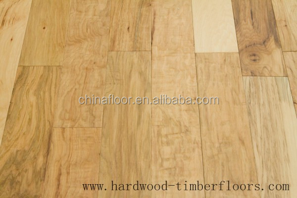 Foshan Discount Unfinished solid Chestnut Wood Plank Floor